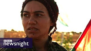 Download The women leading the fight against IS in Syria – BBC Newsnight Video