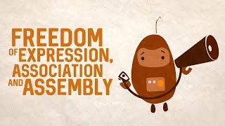 Download Freedom of expression, association and assembly Video