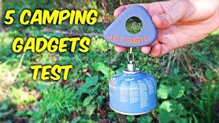 Download 5 Camping Gadgets put to the Test - Part 7 Video