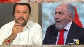 Download Antonio Caprarica, Giuliano Cazzola e Matteo Salvini discutono di vitalizi e privilegi Video