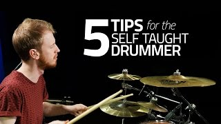 Download 5 Tips For The Self Taught Drummer - Drum Lesson (Drumeo) Video