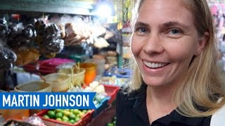 Download Shopping at a Traditional Market in Indonesia Video