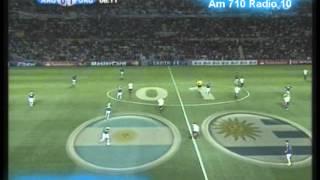 Download Argentina 1 Uruguay 1 (Relato Alejandro Fantino) Copa America 2011 Los goles Video
