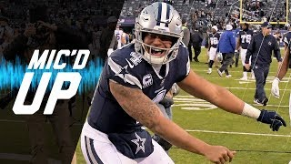 Download Dak Prescott Mic'd Up vs. Giants ″Hey Dez Listen, But Don't Pay Attention″ | NFL Sound FX Video