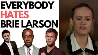 Download Avengers Cast Savagely Roast Brie Larson & Her Lies About Doing Her Own Stunts Video