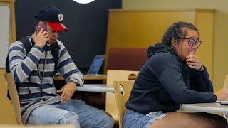 Download Embarrassing Phone Calls in the Library (Part 4) PRANK Video