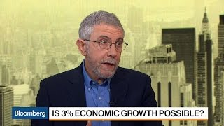 Download Economist Paul Krugman Doesn't See Return to 3% Growth Video