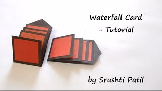 Download How to make - Waterfall Card Tutorial | by Srushti Patil Video