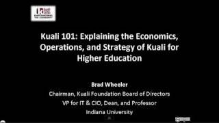 Download Kuali 101 at Kuali Days 2011 Brad Wheeler Video
