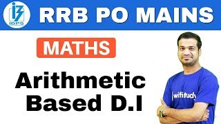 Download 1:00 PM - RRB PO Mains | Maths by Naman Sir | Arithmetic Based D.I Video