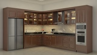 Download Sketchup Kitchen Build + Vray Render Video