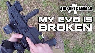 Download Airsoft Gun Failure - Not My Day (TM Hicapa Scorpion Evo G&G CM16 WE Bulldog PX4 Compact) Video