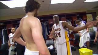 Download Kobe and Gasol Show Their Teamwork Video