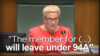 Download Bronwyn Bishop ejects record 18 members from Question Time Video
