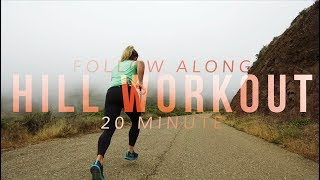 Download 20 Minute Follow-Along Hill Repeat Workout | with Views! Video