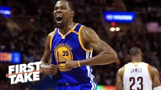 Download Kevin Durant Is 'Single-Handedly Ruining' LeBron James' Legacy   First Take   June 9, 2017 Video