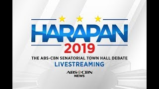 Download LIVE - Harapan 2019: The ABS-CBN Senatorial Town Hall Debate Video