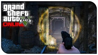 Download GTA 5 Online - NEW SECRET MINESHAFT LOCATION! (Where To Find) [GTA V PS4 / Xbox One] Video