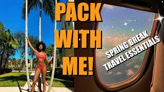Download PACK WITH ME + travel essentials for spring break 2019! ✈️ Video