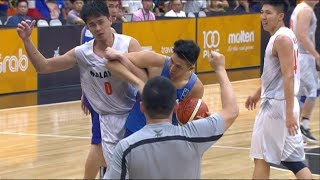 Download Things get heated between Malaysia and Gilas Pilipinas! | SEA Games 2017 Video