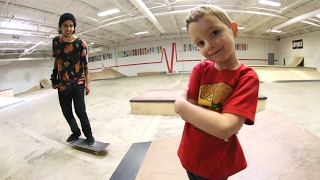 Download 5 YEAR OLD SKATE COACH!? Video