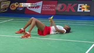 Download P.V. Sindhu-Carolina Marin last points Denmark Open 2015 Video