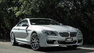 Download BMW 650i Coupe on Avant Garde M310 Wheels by California Wheels Video