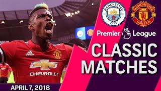 Download Man City v. Man United I PREMIER LEAGUE CLASSIC MATCH I 4/7/18 I NBC Sports Video
