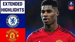 Download Dramatic Scenes as United Get Revenge! | Chelsea 0-2 Manchester United | Emirates FA Cup 2018/19 Video