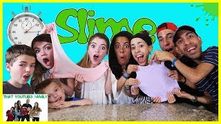 Download Speed Slime Making Challenge Ft. The Skory's / That YouTub3 Family Video