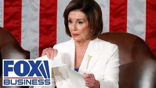 Download Gaetz files ethics charges against Pelosi for ripping SOTU speech Video
