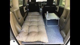 Download 【新型N-BOX】簡単車中泊ベッドをDIY Video