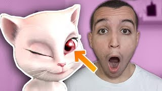 Download CE CHAT CACHE UN LOURD SECRET... *CHOQUÉ* (Talking Angela) Video