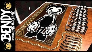 Download Bendy and the Ink Machine (IN 54,984 DOMINOES!) Video