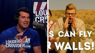 Download DEBUNKED: 'Adam Ruins Everything' Why a Wall Won't Stop Immigration | Louder With Crowder Video