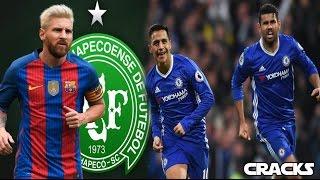 Download Chapecoense jugará vs el Barcelona   ALEXIS, ¿nueva pareja de COSTA?   CRISTIANO no teme a Hacienda Video