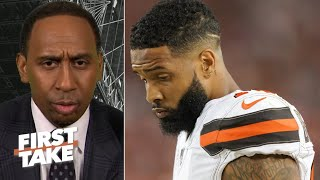 Download Odell Beckham needs the ball before things 'snowball out of control' – Stephen A. | First Take Video