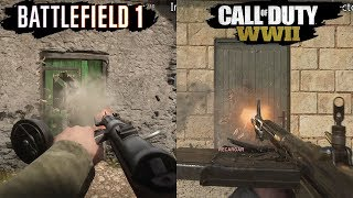 Download Call of Duty WWII VS Battlefield 1 | Graphics Comparison | Comparativa Video