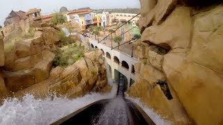 Download Chiapas POV Awesome Themed Log Flume Water Roller Coaster Phantasialand Germany Video