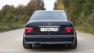 Download Mercedes w124 E500 & E60 Sound Compilation   Волчок рычит Video