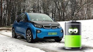 Download BMW i3 elektromos autóval fagypont környékén. Vajon mennyire bírja? Video