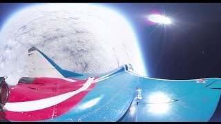 Download First-ever 360 video of MiG jet conquering stratosphere at dizzying 18,250 meters, 2,000 kmph speed Video