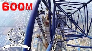 Download | Roofing 600m | Climbing up the Goldin Finance 117 | NEW | Video