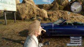 Download Final Fantasy XV playthrough pt13 - First Miniboss and Side Quest Explorations Video