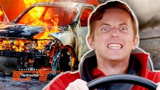 Download The Try Guys Crash Cars Into Each Other // Presented by The Grand Tour Video