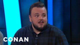 Download John Bradley Compares Kit Harington To The Mona Lisa - CONAN on TBS Video