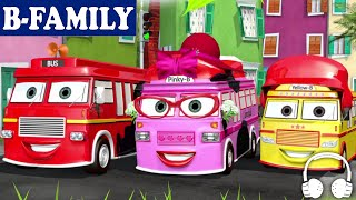 Download [B-FAMILY] Wheels on the Bus and More Songs | Muffin Songs Video