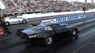 Download 3500+hp NO WHEELIE BARS! - Outlaw Drag Radial Racing Video