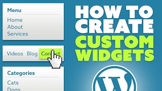 Download How To Create Custom Widgets Area In WordPress Video