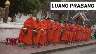 Download Luang Prabang: Ceremonia de Monjes, Mount Phu Si y masaje laosiano   Laos 4# Video